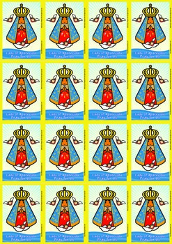 16 Lady of Aparecida Flash Cards - Catholic