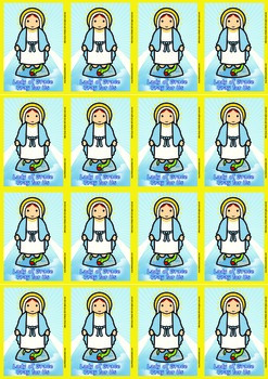 16 Lady of GraceFlash Cards - Catholic