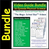16 Magic School Bus ** Physical Science Episodes - Answer Sheet, Worksheet, Quiz