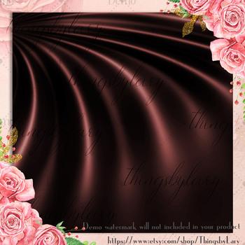 16 Marsala Luxury Silk Satin Cloth Texture Digital Papers