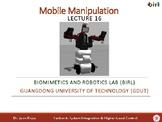 16. Mobile Manipulation