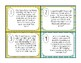 16 Multi-Step Word Problems Task Cards
