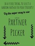 16 Person Partner Picker for Christian Teachers!