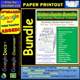 A Differentiated Worksheet Bundle Quiz Ans Bill Nye Physical Science Part 2 *