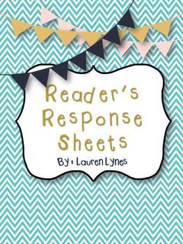 16 Reader's Response Sheets!