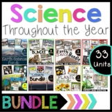 Science Throughout the Year Mega Bundle Grades 3-5