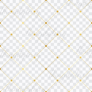 16 Seamless Gold Minimalist Dot Overlay Transparent Papers