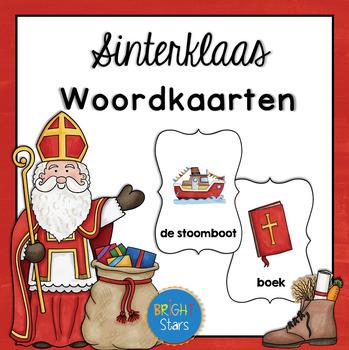 16 Sinterklaas Woordkaarten