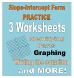 16) Slope Intercept Form Worksheets Homework
