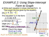 16) Slope Intercept Form y=mx+b (Complete 2+ days of PPT lessons)
