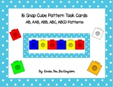 16 Snap Cube Pattern Task Cards