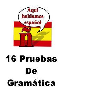 16 Spanish Grammar Quizzes