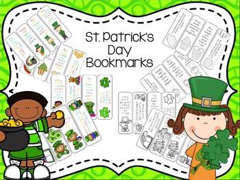 St. Patrick's Day Bookmarks