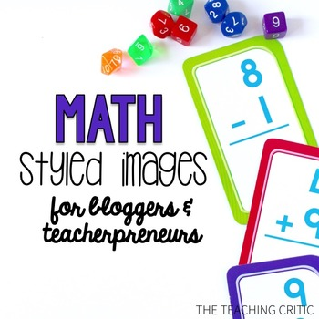 16 Styled Images: Math Theme & Commercial License