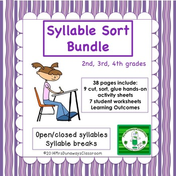 16 Syllable Sorts Bundled