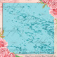 16 Teal Marble Digital Papers, Glitter Marble, Foil Marble