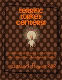 16 Terrific Turkey and Thanksgiving themed centers!!
