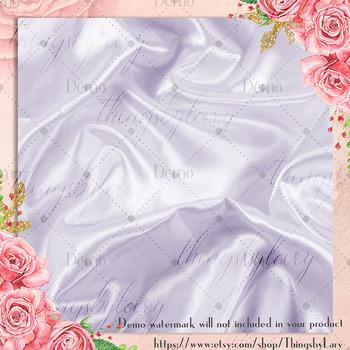 16 Ultra Violet Luxury Silk Satin Texture Digital Papers