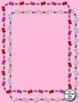 16 Valentine's Day Doodle Frames - Color & Line Art - Ink Savers!