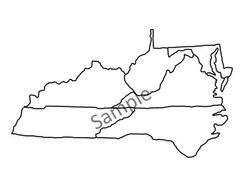 16 Virginia Maps - Clip Art - SOL Aligned - Easy to Use!