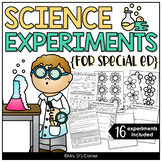 16 Visual Science Experiments for Special Education