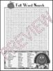16 Year-Round Word Search Puzzles (Upper Elem & Secondary)