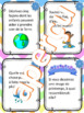 16 cartes à tâches - Écriture créatives printemps