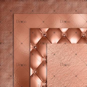 16 luxury denim and peach digital paper pack
