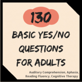 130 Yes/No Questions for Adults