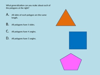 16.11: Making and Testing Generalizations about Polygons