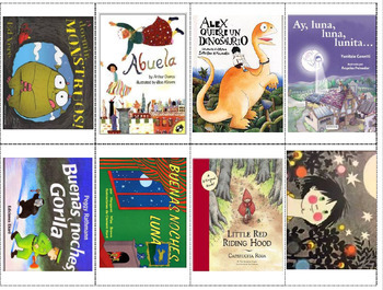 162 Spanish Story Time Read Aloud Books - QR Codes Cards - SafeShare Version
