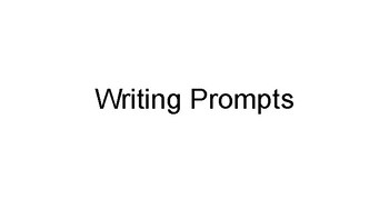 164 Writing Prompts