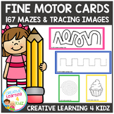 Fine Motor Cards Tracing & Mazes