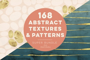 168 Abstract Textures & Patterns