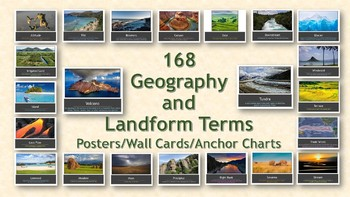 168 Geography and Landform Terms PowerPoint Presentation