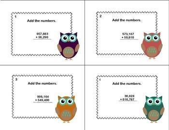 168 Task Card Bundle-Fourth Grade Math-5 Math CCSS