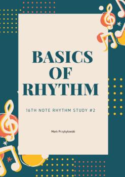16th Note Rhythm Study #2