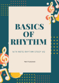 16th Note Rhythm Study #2