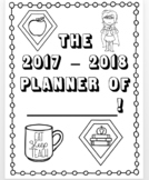 17 - 18 Teacher Planner