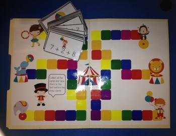 17 Adding Math Folder Games - Fun Addition Centers - Common Core Aligned!