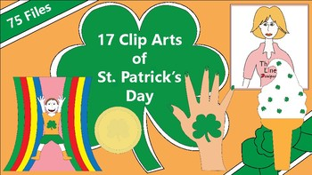 17 Clip Arts of St. Patrick's Day