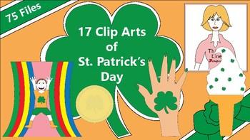 17 Clip Arts of St. Patrick's Day