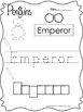 17 Color, Read, Trace, and Box Write Penguins Worksheets. Preschool-KD