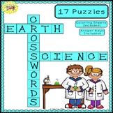 Earth Science Crossword Puzzles