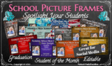 17 Editable Student Picture Frame Templates for Social Med