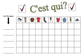 17 French Speaking Activities for the Entire Class (C'est Qui?)