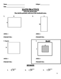 17 Perimeter and Area Worksheets