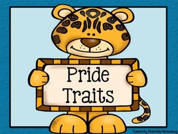 19 Jaguar Traits/Character Education Jaguar & Polka Dot Theme