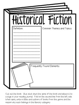 17 Types of Literary Genres ~ Interactive Notebook Pages