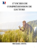 17 fiches de lecture, French Immersion (#258)